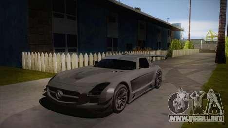 Mercedes-Benz SLS (AMG) GT3 para GTA San Andreas left