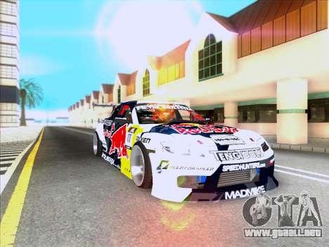Mazda RX-8 NFS Team Mad Mike para visión interna GTA San Andreas