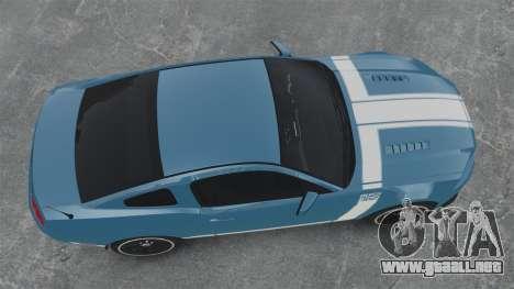 Ford Mustang BOSS 2013 para GTA 4 visión correcta