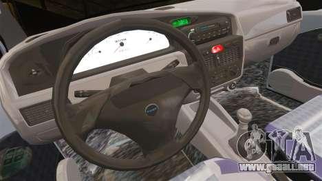 Fiat Palio EDX 1997 para GTA 4 vista interior