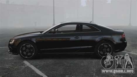 Audi RS5 2011 v2.0 para GTA 4 left