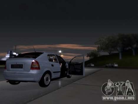 Opel Astra G para visión interna GTA San Andreas