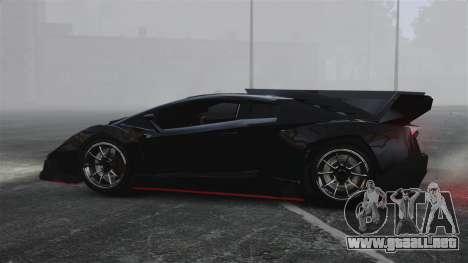 Lamborghini Veneno para GTA 4 left