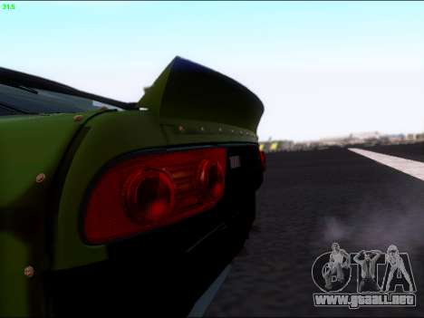 Nissan 180sx Takahiro Kiato para GTA San Andreas vista hacia atrás