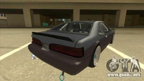 Fortune Drift para la visión correcta GTA San Andreas