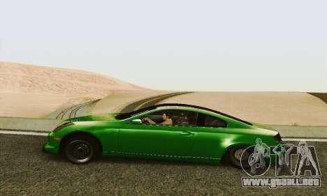 Infiniti G35 Hellaflush para GTA San Andreas left