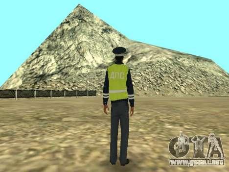 El empleado DPS la piel para GTA San Andreas tercera pantalla
