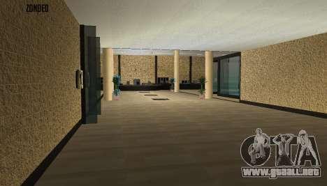 Retekstur el Interior del Ayuntamiento para GTA San Andreas