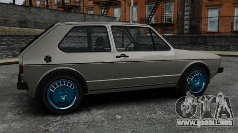 Volkswagen Golf MK1 GTI Update v2 para GTA 4 left