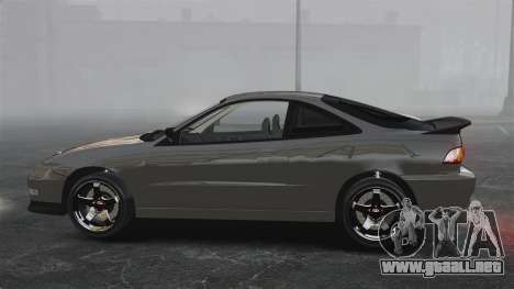 Acura Integra Type-R Domo Kun para GTA 4 left