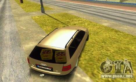 Audi A6 (C5) Avant para visión interna GTA San Andreas