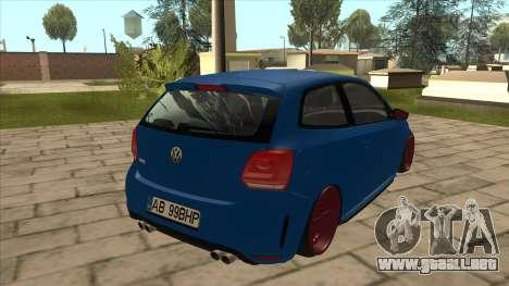 Volkswagen Polo GTi Euro Stance 2012 para la visión correcta GTA San Andreas