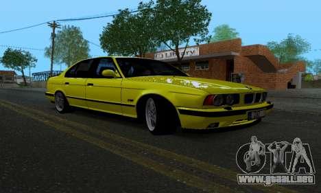 BMW M5 E34 IVLM v2.0.2 para GTA San Andreas vista hacia atrás