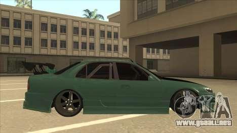 Proton Wira with s15 front end para GTA San Andreas vista posterior izquierda