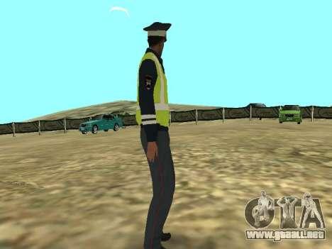 El empleado DPS la piel para GTA San Andreas segunda pantalla