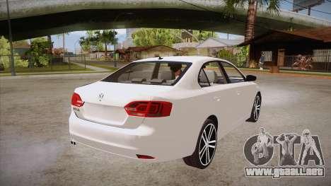 VW Jetta GLI 2013 para la visión correcta GTA San Andreas