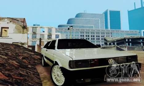 VW Parati GLS 1988 para visión interna GTA San Andreas