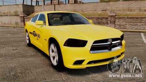 Dodge Charger 2011 Taxi para GTA 4