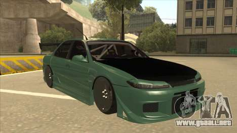 Proton Wira with s15 front end para GTA San Andreas left