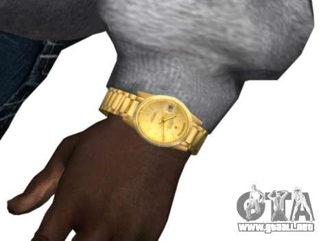 Raheem Sterling skin para GTA San Andreas sucesivamente de pantalla