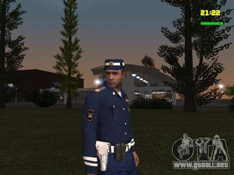 Sargento DPS para GTA San Andreas segunda pantalla