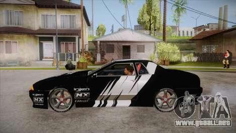 Elegy Touge Tune para GTA San Andreas left