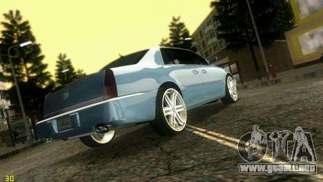Caddy DTS DUB para GTA Vice City left