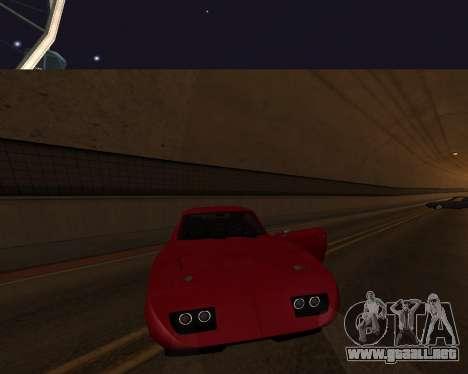 Dodge Charger Daytona para GTA San Andreas interior
