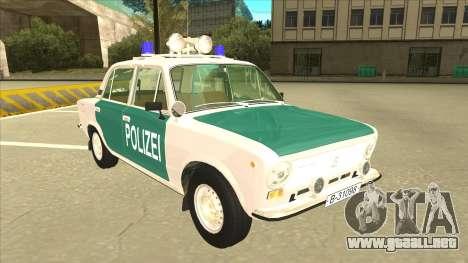 VAZ 21011 DDR police para GTA San Andreas left