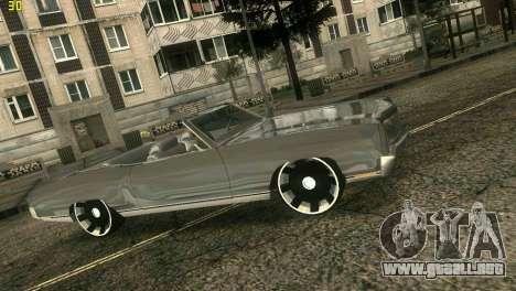 Chevy Monte Carlo para GTA Vice City vista lateral izquierdo