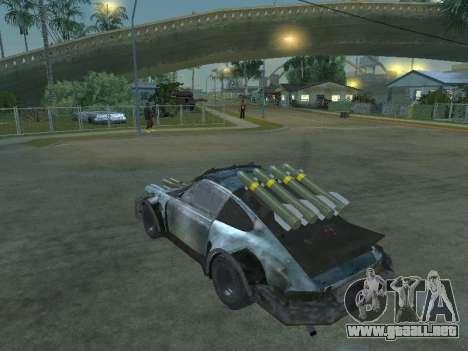 Porsche 911 Death Race para GTA San Andreas left