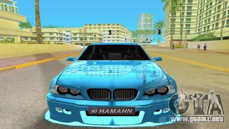 BMW M3 E46 Hamann para GTA Vice City vista lateral izquierdo