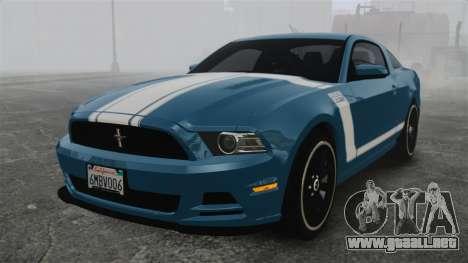 Ford Mustang BOSS 2013 para GTA 4