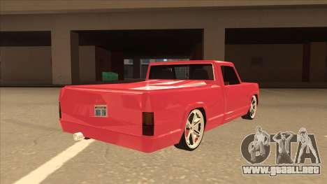 Modified Sadler para la visión correcta GTA San Andreas