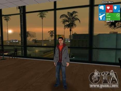El personaje principal de NFS: carbono para GTA San Andreas