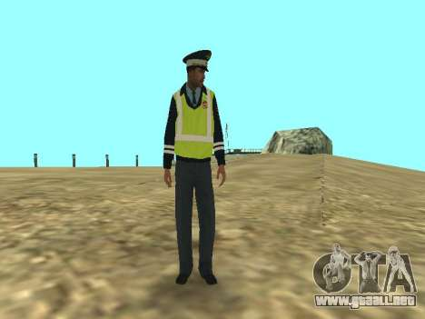 El empleado DPS la piel para GTA San Andreas