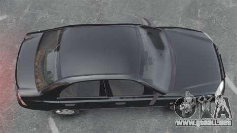 Hyundai Accent Admire para GTA 4 visión correcta