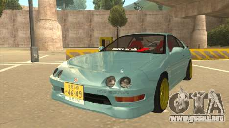 Honda Integra JDM Version para GTA San Andreas