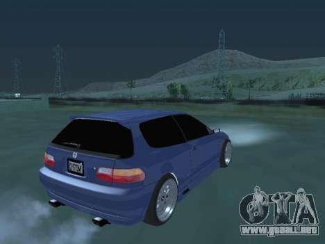 Honda Civic (EG6) 1994 para GTA San Andreas left
