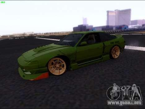 Nissan 180sx Takahiro Kiato para GTA San Andreas left