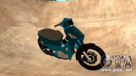 Honda 125cc Tuning para GTA San Andreas left