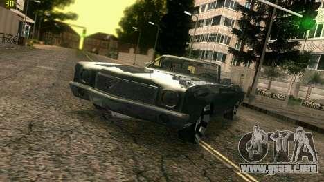 Chevy Monte Carlo para GTA Vice City vista interior