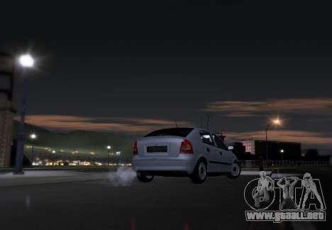 Opel Astra G para la visión correcta GTA San Andreas