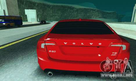 Volvo S60 para la vista superior GTA San Andreas