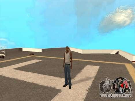 Conmutación entre personajes como GTA V 2.0 para GTA San Andreas segunda pantalla