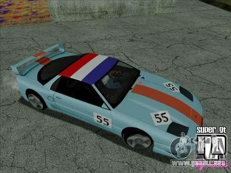 Super GT HD para las ruedas de GTA San Andreas