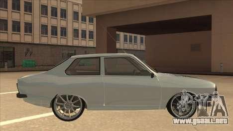 Dacia 1310 Sport Tuning para GTA San Andreas vista posterior izquierda