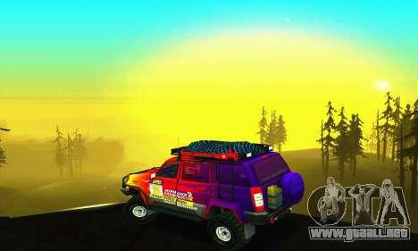 UAZ Patriot juicio para el motor de GTA San Andreas