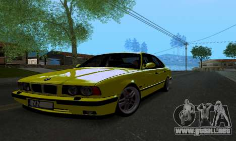 BMW M5 E34 IVLM v2.0.2 para GTA San Andreas