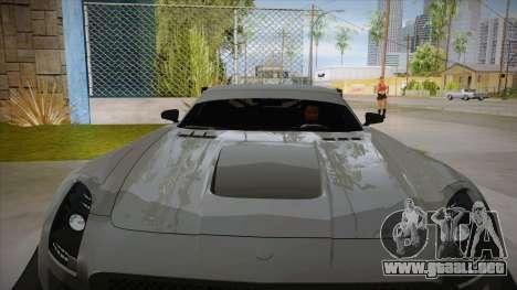 Mercedes-Benz SLS (AMG) GT3 para vista lateral GTA San Andreas